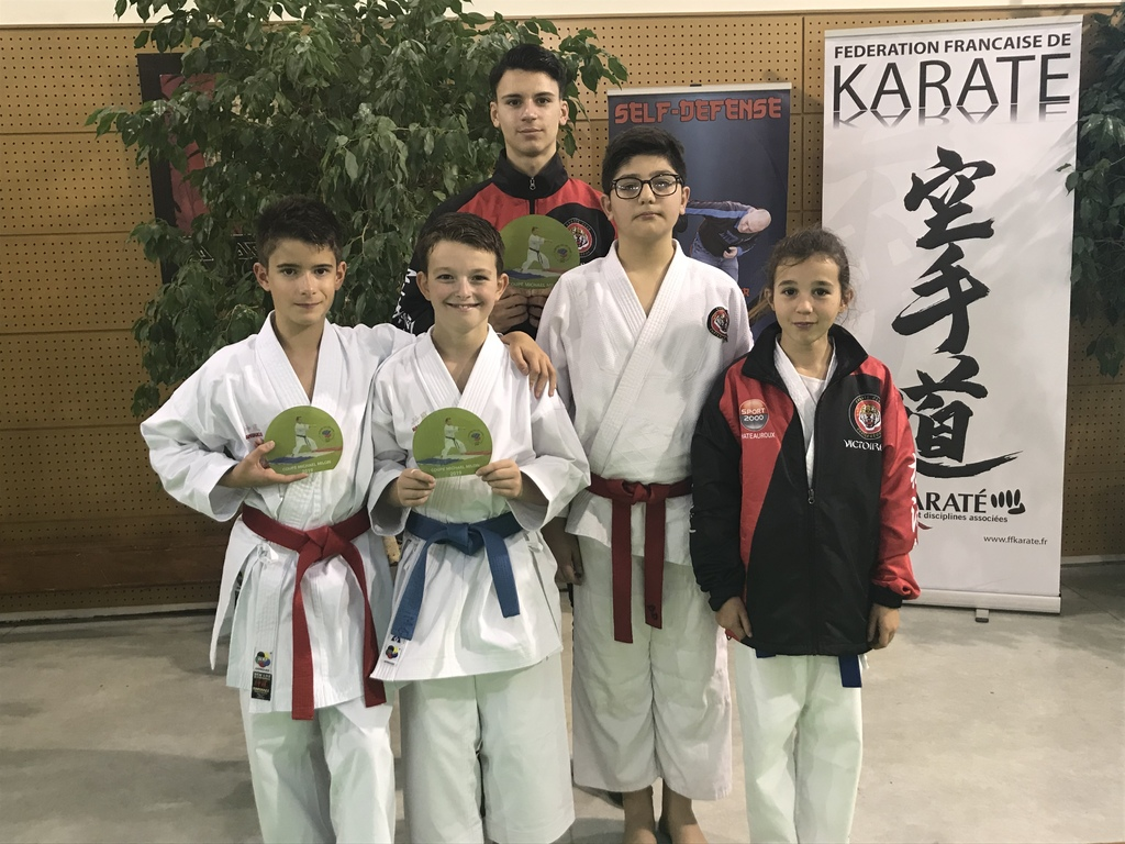 45 St Jean le Blanc : Coupe de Ligue Kata Elite.